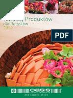 Katalog Produktów dla florystów 2014