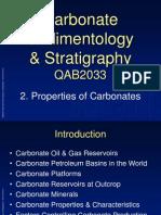 Properties of Carbonates