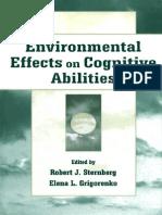 Efectos Ambientales en Las Habilidades Cognitivas