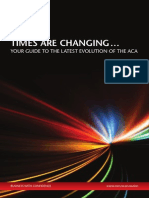 Guide to the Latest Evolution of the Aca