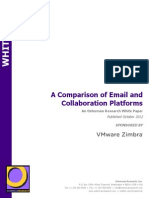 Zimbra vs Other Email Platforms