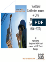 Ohsas Audit and Certification Process Tl Itb Rev1