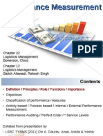 2011 Lscm Lesson15 Performace Measurement