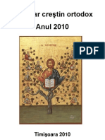 Calendar Crestin Ortodox - Anul 2010