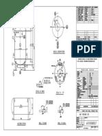 Drawing of LPG 235kg Tank