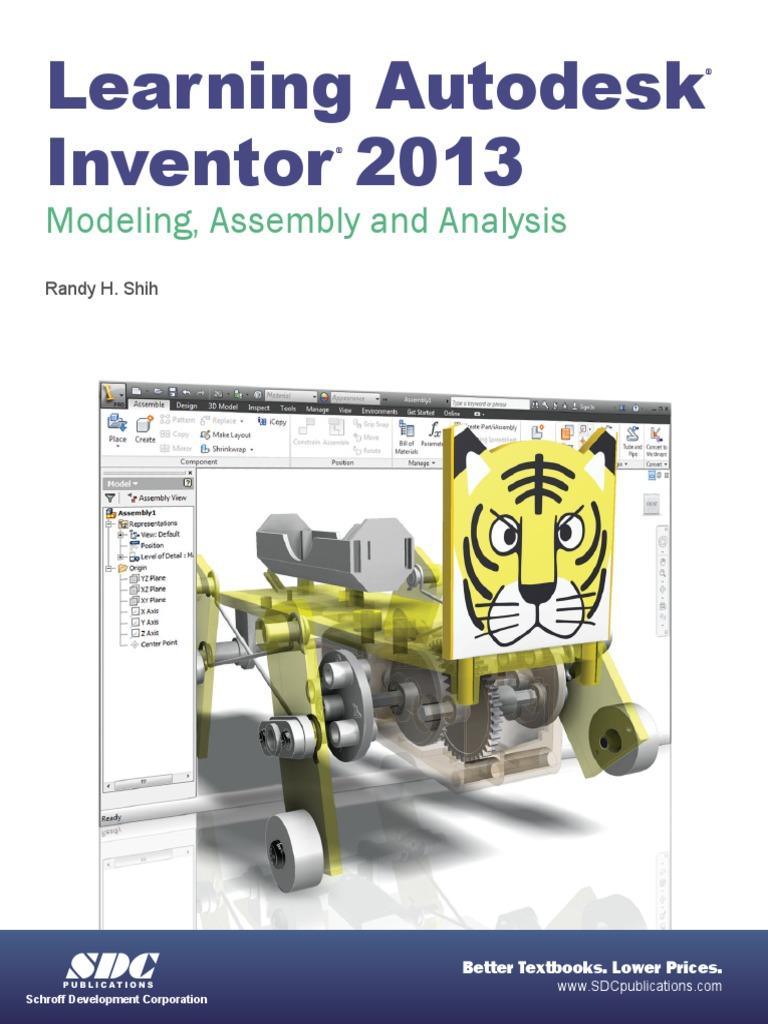 autodesk inventor professional tutorial pdf icon computing 2 d rh scribd com Autodesk Inventor 2013 System Requirements Autodesk Inventor 2013 System Requirements
