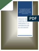 EL CAPITAL DE EMPRESA Y LA INVERSION EN EL ECUADOR.docx