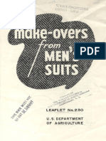Makeovers From Mens Suits