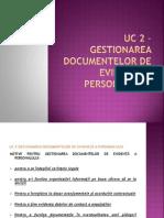 UC 2_Gestionarea documentelor de evidența a personalului