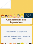 Comparatives and Superlatives Rules, Use, Examples