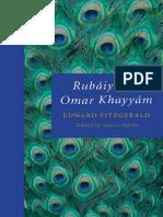 Edward Fitzgerald Rubaiyat of Omar Khayyam Oxford Worlds Classics 2009
