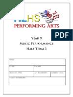 yr 9 booklet term 3