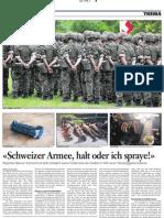 Schweizer Armee, Halt Oder Ich Spraye!