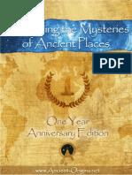 Ancient Origins eBook Anniversary One