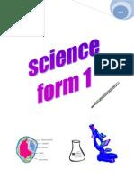 Nota Sains Form 1