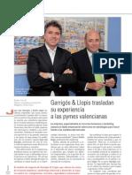 GARRIGÓS&LLOPIS TRANSLADAN SU EXPERIENCIA A LAS PYMES VALENCIANAS