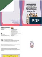 Manual guía para profesores de preguntas y respuestas para una alimentación correcta