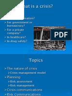 19b Crisis Management