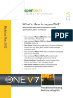 What is New in AspenONE V7.3 Brochure