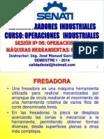 OPERACIONES INDUSTRIALES - SESION 06 - FRESADO