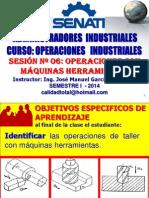 OPERACIONES INDUSTRIALES - SESION 06 - TORNEADO