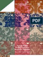 Vente de Etoffes, Costumes, Papiers-Peints anciens, 1er Juillet 2009
