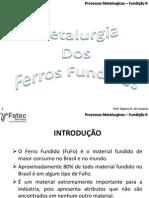 Aulas - Ferro Fundido Br