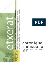 Chronique - Jan-Fév 2014