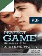 J. Sterling - A Hibatlan Jatek