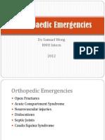 Sss Orthopedicemergencies 2012 Final Samuel-wong