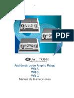 QualitoneWR Manual