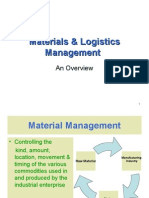 Materials & Logistics Management- I