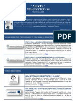 APECES - Newsletter No 18