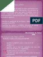 Dicccionario de Datos 2014