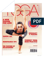 Ana Forrest 9-page special on Yoga for beginners, Yoga poses for intermediates and yoga for advanced yogis.