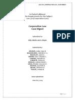 Corporation Law Case Digest
