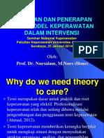 Kuliah Pemilihan Teori Nursalam Mkpd s3 1