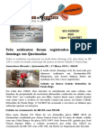 Três acidentes foram registrados no último domingo em Queimadas