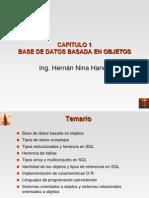 Capitulo 1 Base de Datos Basada en Objetos