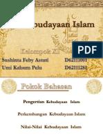 Kelompok XI - Kebudayaan Islam