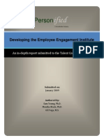 Employee Engagement Institute Report