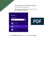 Cómo instalar un paquete de idioma y cambiar el idioma de Windows