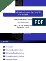 Indice de Capacidad Multivariada
