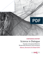 Conference Report - Science in Dialogue