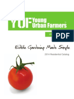 Young Urban Farmers 2014 Residential Catalog