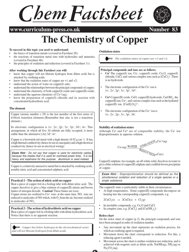 Chem factsheet redox hydroxide gamestrikefo Choice Image