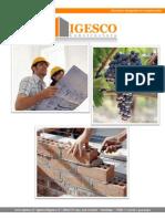 Brochure Constructora Igesco Ltda 2012