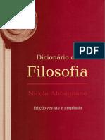 ABBAGNANO, Nicola. Dicionário de Filosofia