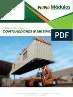 Brochure Técnico Contenedores
