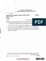 LPKPM SPM 2013 Bahasa Cina Kertas 1,2 Kw